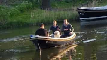 Small boat Amsterdam