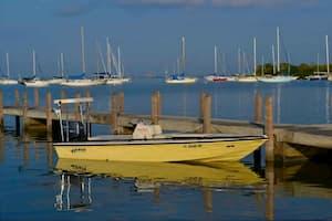 Small Fishing Vessel Miami Beach