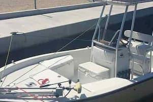 Small Boat for Fishing Key Largo