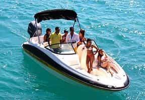 Speedboat Cancun