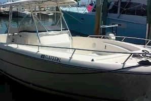 fishing boat hire in Key Largo