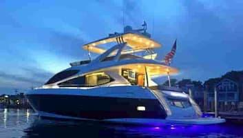 Luxury Motorboat Miami Beach