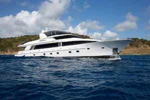 Super yacht British Virgin Islands 1