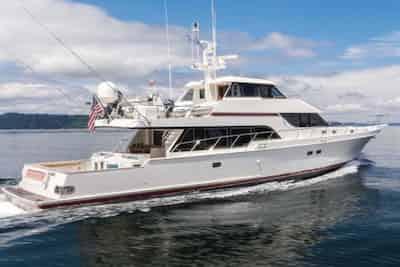 Mega Yacht in Long Beach