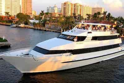 Yacht for parties Fort Lauderdale