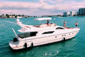 Yachts in Miami Beach