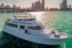 Large Yacht for Couples Miami Beach