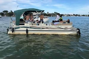 Pontoon charters in miami