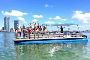 Pontoon Boat Charters Miami