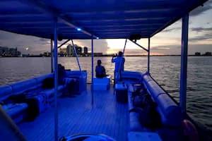large pontoon Fort Lauderdale