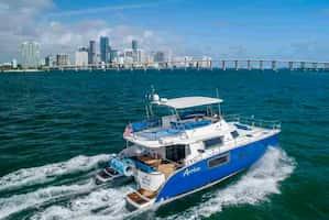 Catamaran for Parties in Miami Beach